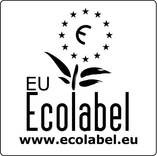 EU Ecolabel Logo zwart
